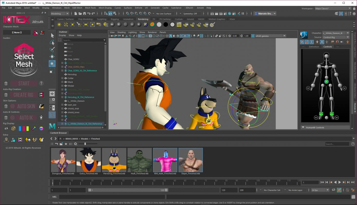 IKMAX for Maya – 3DtoAll