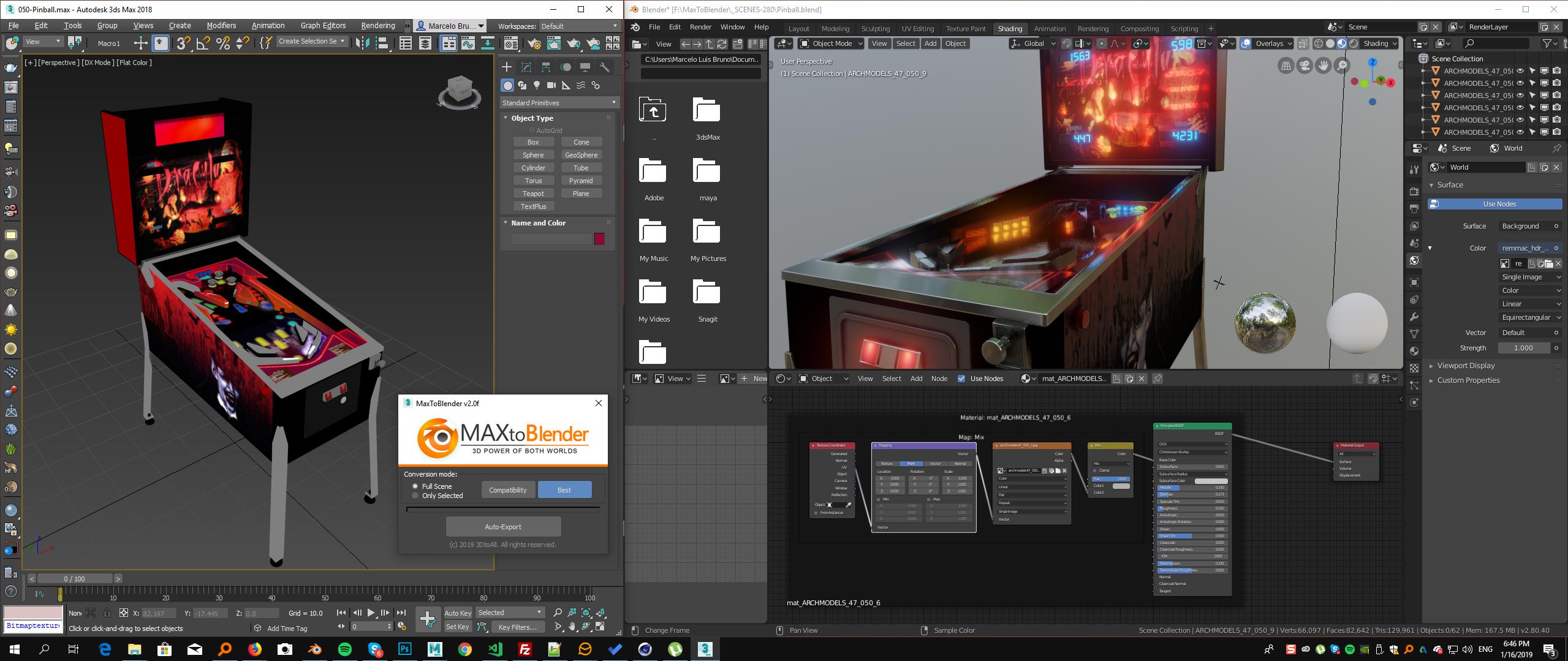 MaxToBlender – 3DtoAll